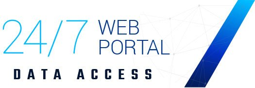 24/7 Web Portal Access